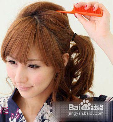 韩式盘发发型diy图解图片