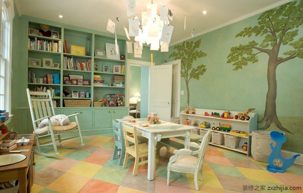 现代中式书房效果图_装修之家装修效果图图片