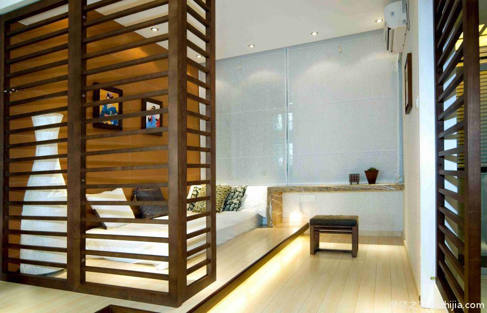 新中式风格书房装饰设计效果图_装修之家装修效果图图片