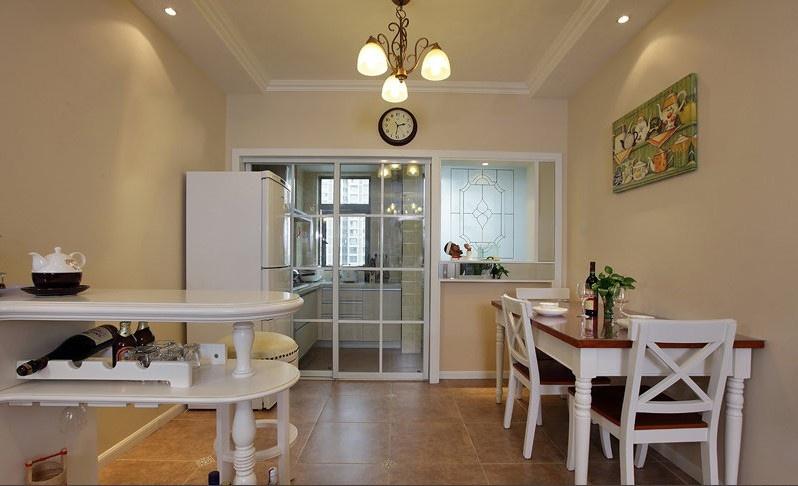 2013年厨房餐厅装修效果图 高清图片
