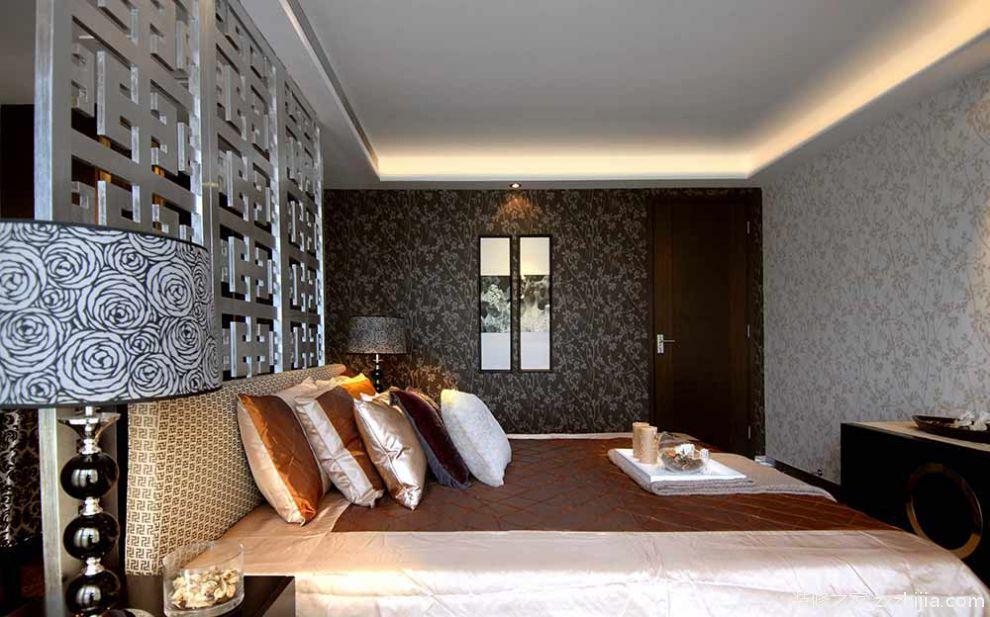 美式卧室明亮温暖装潢设计_装修之家装修效果图图片