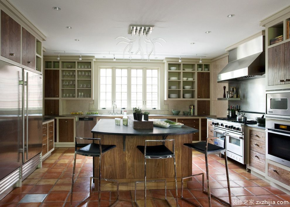 11万打造90平北欧风格厨房橱柜美图_装修之家装修效果图图片