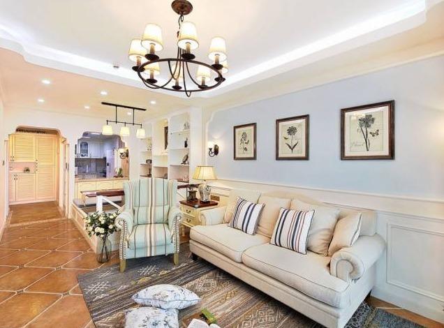 美式客厅的n 1种选择图片