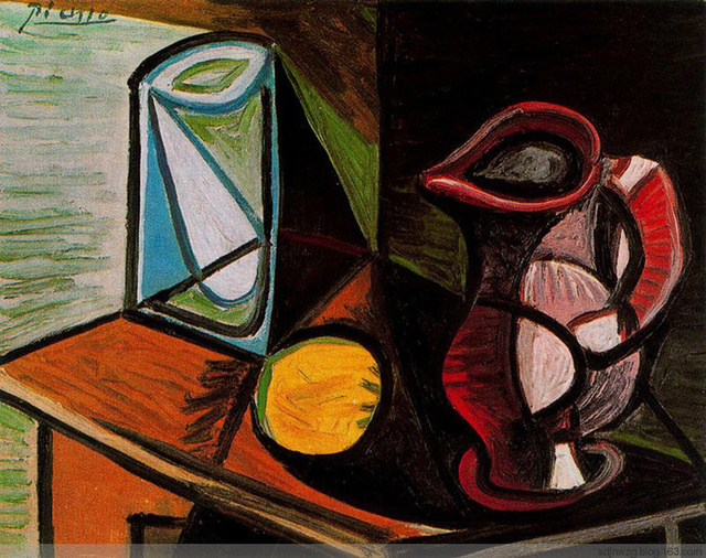 西方绘画大师 巴勃罗. 毕加索绘画作品欣赏图片