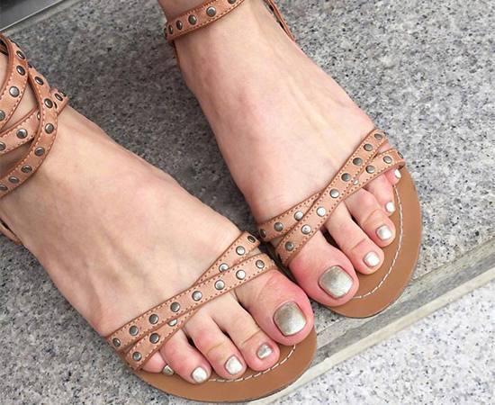 夏季脚美甲图片大全 夏季正当时脚美甲款式推荐,夏天脚尖也应该美美的图片