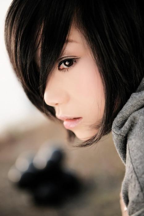 短发女_图片