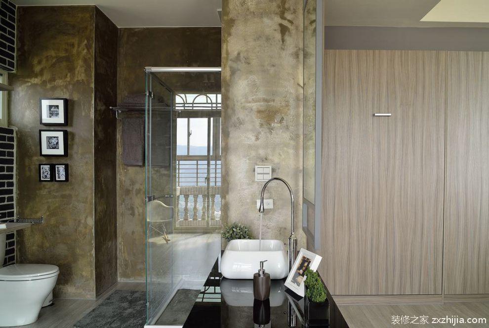 中式风格家居卫生间室内设计效果图_装修之家装修效果图图片
