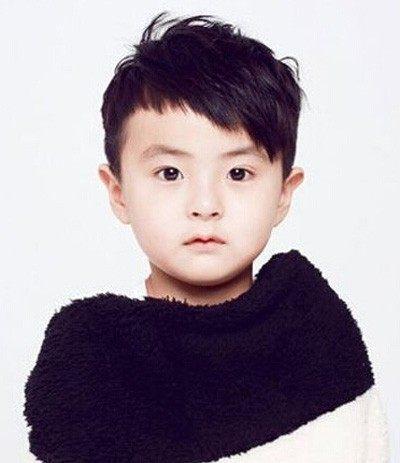 夏天小男孩发型图片 2017最新儿童夏季发型图片