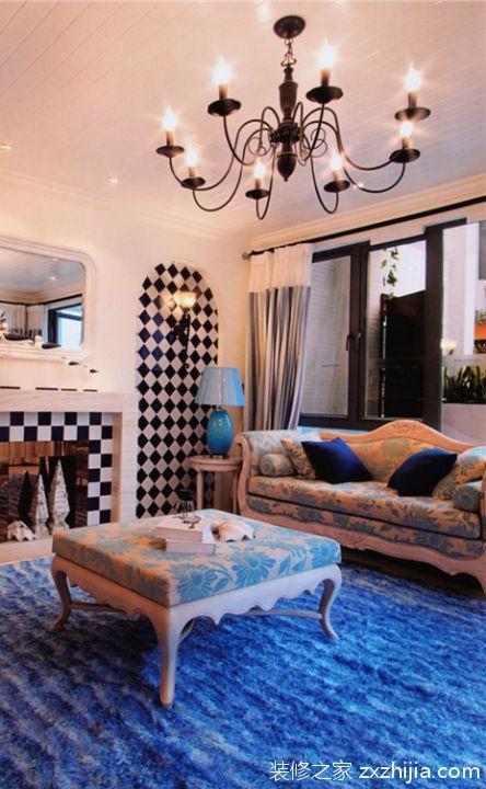 美式装修餐厅电视背景墙_装修之家装修效果图