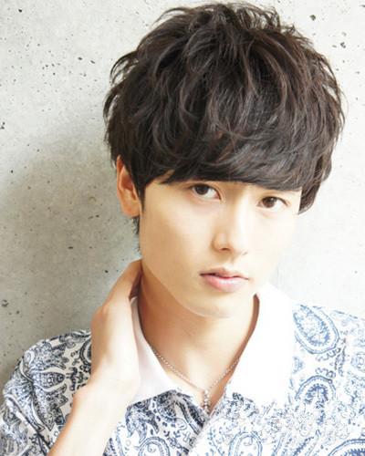 韩式男生烫发,韩式男生烫发型2015款,男生烫发发型图片韩版 - 七丽图片