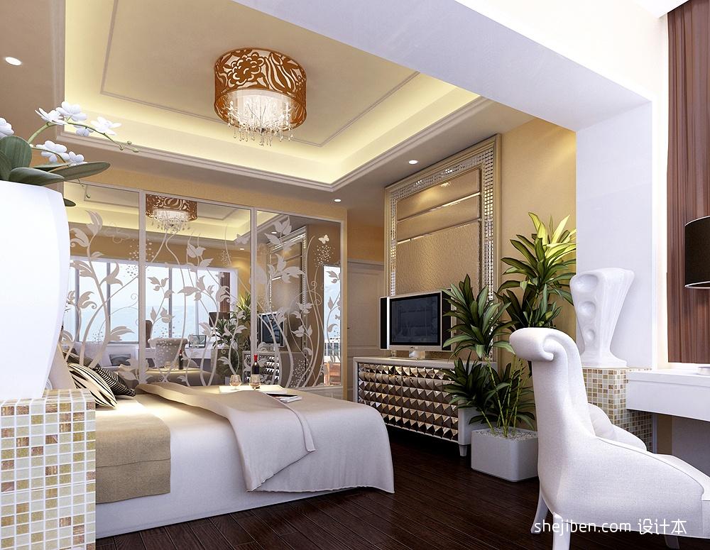 2013卧室吊顶装修效果图片 高清图片