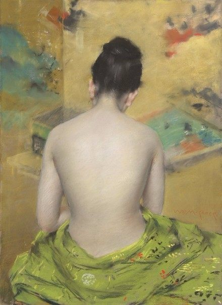 williamchase_19世纪美国画家 william merritt chase笔下的女性.图片