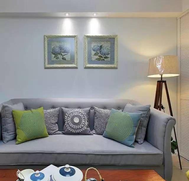 美式混搭二居室,小户型就要这样装图片