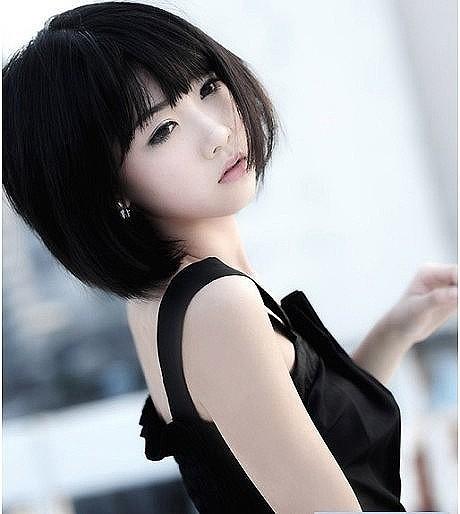 短发女_『凉夏 ❤  短发为谁剪』