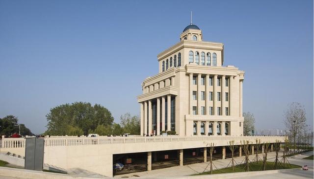 武汉横渡长江博物馆 苏式建筑风格设计再现图片