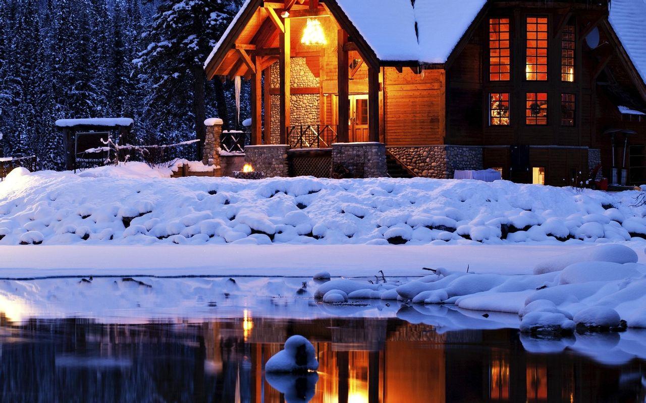 2012冬季雪景高清壁纸图片