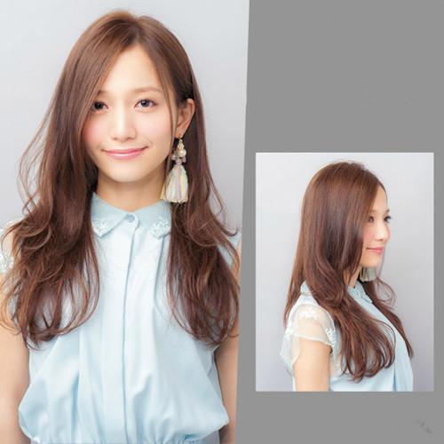 女生大卷中长发型,大卷发型图片中发,女生大卷发型图片 - 七丽女性网图片