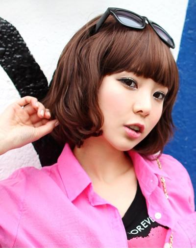 最hot韩式短发蛋卷头 让你也能超抢镜上镜图片