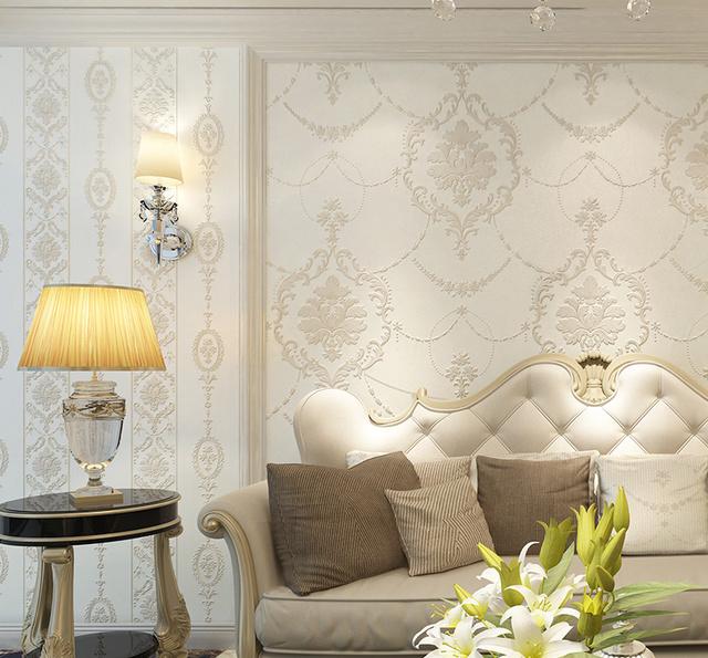 现在的电视背景墙都用上3d墙纸了,让你的客厅一天一个样儿图片