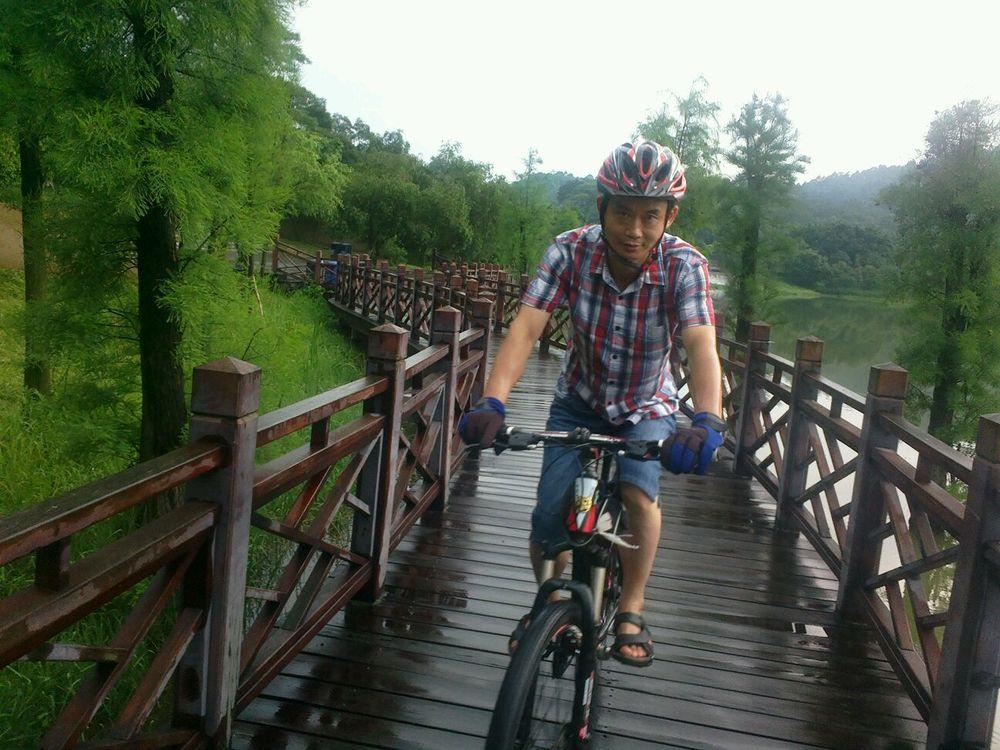 大夫山森林公园骑行图片