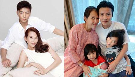 张晋宣布蔡少芬三胎得子