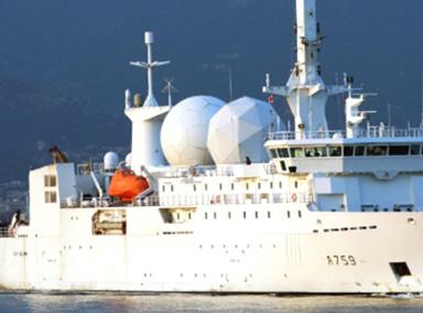"""情报收集船在环太军演海域行""""航行自由""""权"""