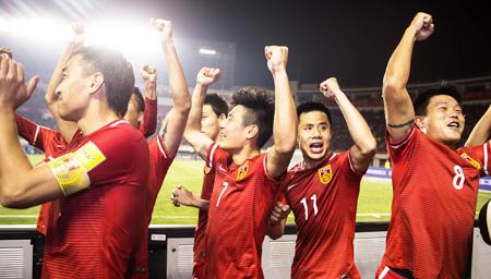 FIFA排名国足超韩国亚洲第4 列57位创12年新高