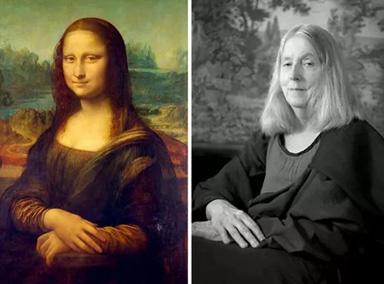 66岁老太太玩自拍模仿世界名画