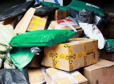 快递员离职留下5000个包裹