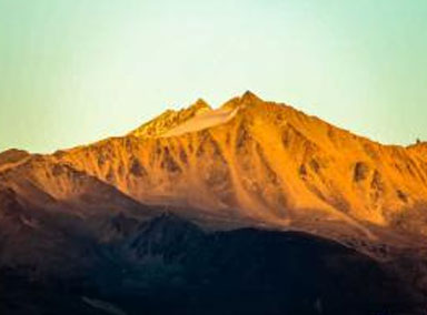 陕西有座会隐身的神山