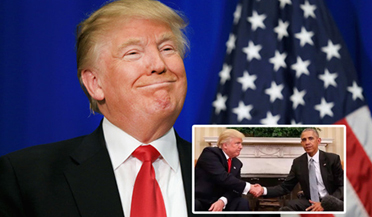 """有种尴尬叫""""和特朗普握手"""""""