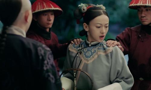 第14集精彩看点:璎珞私会庆锡被抓傅恒相救