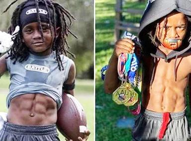 地球上跑的最快的孩子!7岁男孩跑百米13秒48