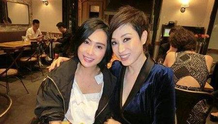 永远的女神!陈法蓉朱茵美貌依旧风情不减当年