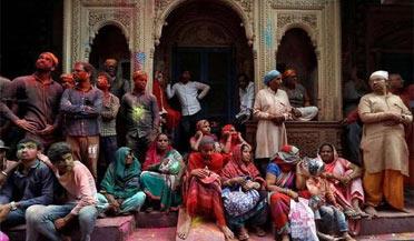 印度非洲出现新冠疫情流行时