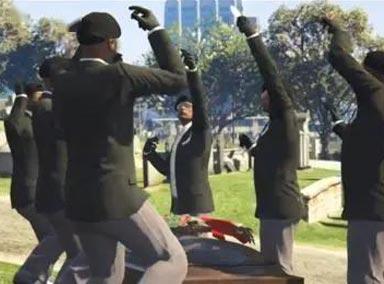 沙雕搞笑糗事百科之黑人抬棺升级版黑马抬棺