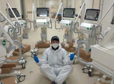 全球抢购中国呼吸机