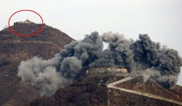 朝鲜炸毁非军事区10处哨所
