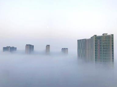 太梦幻了!大雾突袭泉城济南