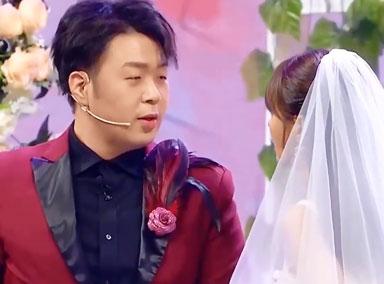 沈梦辰穿婚纱深情落泪 杜海涛却成婚礼司仪