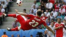 欧洲杯超级倒勾盘点 孔蒂曾献神作沙奇里震撼世界