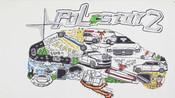 五门掀背纯电动中型车-Polestar 2