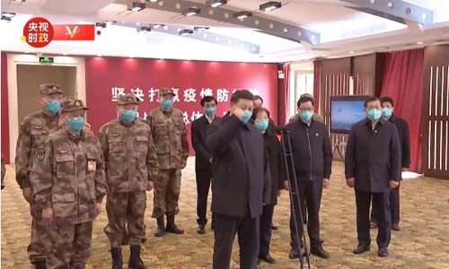 习近平:大家共同坚定信心,一定会打赢这一场战疫