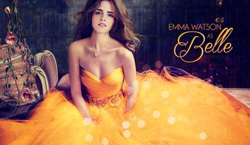 艾玛出演《美女与野兽》,华丽服装简直美爆了!