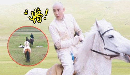 超哥找穿帮438期《独步天下》穿帮镜头 会变色的马