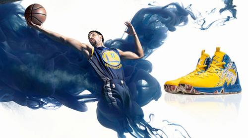 勇士的汤普森竟然穿着穿着中国球鞋,夺得了NBA总冠军