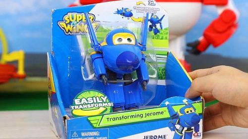超级飞侠 酷飞 变形玩具 美国版 玩具试玩