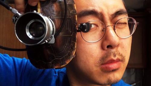 更上海 当相机遇上龟壳会怎样?脑洞大开的男人告诉你