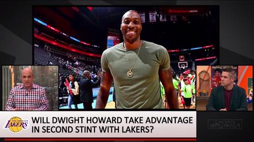 NBA老将处境!34岁霍华德在湖人边缘化,称能回来已是很大幸福!