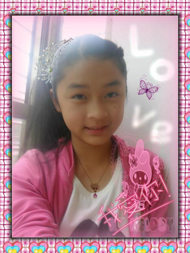 真实可爱女生照片 13 14岁左右